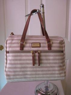 Tommy Hilfiger Beige Handbag Purse Authentic Brand New Tags Satchel 6934006 261 #TommyHilfiger #Bowler