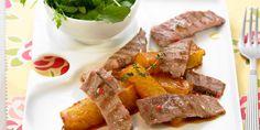 Filet de porc aux fruits caramélisés