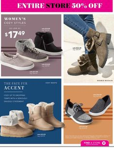 Payless Black Friday 2018 Ads and Deals Browse the Payless Black Friday 2018 ad scan and the complete product by product sales listing. Buy Boots, Shoe Boots, Black Friday Ads, Cozy Fashion, Black Shoes, High Top Sneakers, Coupons, Store, Women