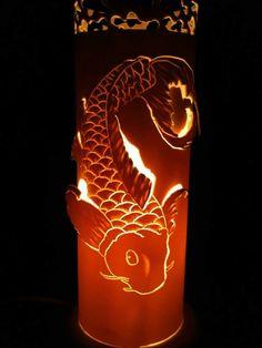 Arte em luminárias