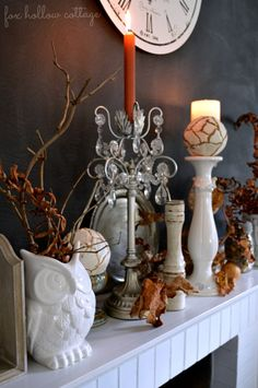 Cottage Home Fall Tour [and a giveaway}  F.H.C.