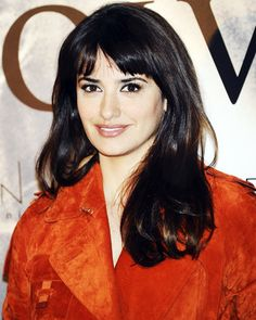The Best Celebrity Bangs - Penelope Cruz  - from InStyle.com