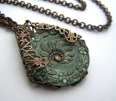 Forest Fairy necklace by 1ofmykind