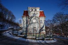 Pension Dalibor (Lidicka 919) Built in 1930, Dalibor is located in Jáchymov spa town, 150 metres from Agricola Centre offering a spa centre and a fitness centre. The reception is open for 24 hours and can be found in the hotel Běhounek. #bestworldhotels #hotel #hotels #travel #cz #jachymov