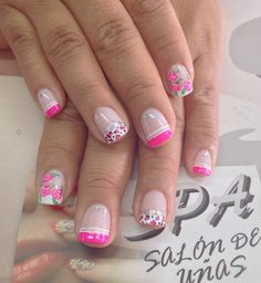 Uñas Cat Nail Art, Cat Nails, Pedicure Designs, Nail Art Designs, Love Nails, Pink Nails, French Nails, Manicure And Pedicure, Hair And Nails