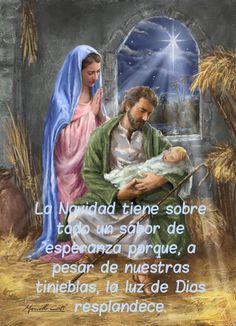 La Navidad tiene sobre todo un sabor de esperanza porque, a pesar de nuestras tinieblas, la luz de Dios resplandece.