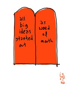 Word of Mouth | Gapingvoid Art