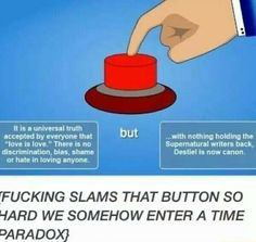 I BECOME THE BUTTON