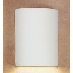 Great Leros Fluorescent Milk Chocolate Flush Wall Sconce - (In Milk Chocolate)