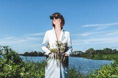BLENDSCAPES Bird Blazer  Fashion Design: Elsien Gringhuis Photography: Tse Kao Model: Kelly Noa Estelle Concept: Elsien Gringhuis & Tse Kao