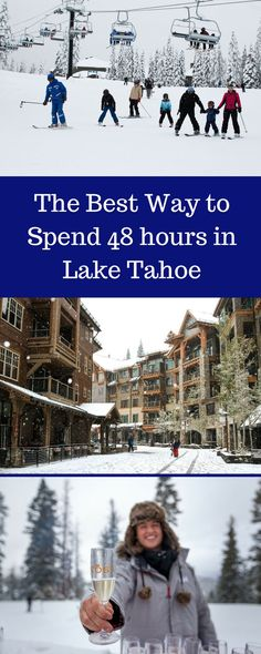 Lake Tahoe Winter Getaway | Vacation at Northstar Tahoe | North Shore Lake Tahoe, CA | Activities at Northstar Village and The Ritz