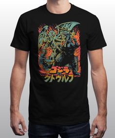 """Clash of Gods"" is today's £8/€10/$12 tee for 24 hours only on www.Qwertee.com Pin this for a chance to win a FREE TEE this weekend. Follow us on pinterest.com/qwertee for a second! Thanks:)"
