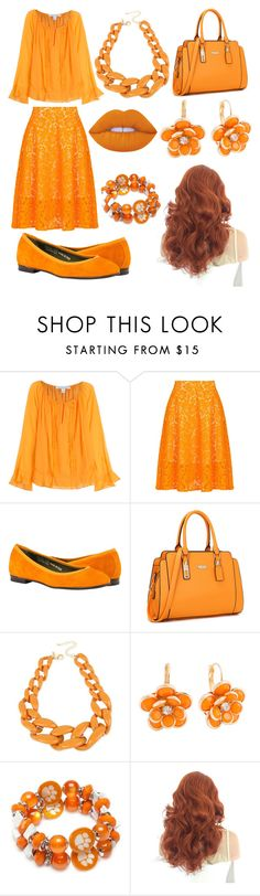 """""""16"""" by cristina-vanau on Polyvore featuring Diane Von Furstenberg, MSGM, INC International Concepts, Mixit, Accessory PLAYS and Lime Crime Msgm, Diane Von Furstenberg, Lime Crime, Plays, Summer Dresses, Polyvore, Fashion, Games, Moda"""