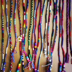#kusadasi #hairwrap #hairwraps #sacipi #iprasta #sac #ipi #hair #wrap #orgu #handmade