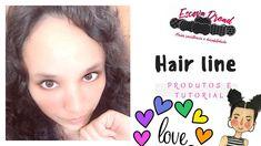 Hair tutorial Kawaii com produtos Hairline