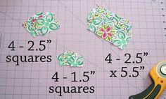 Cross-Terrain Quilt « Moda Bake Shop Jelly Roll quilt