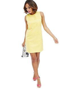 Piqué Shift Dress - New York & Company