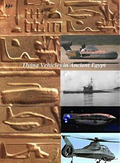 Ancient Egyptian Flying Vehicles