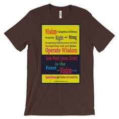 Unisex short sleeve t-shirt (Front & Back Print)