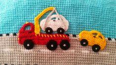 Crochet Applique Patterns Free, Filet Crochet Charts, Baby Knitting Patterns, Crochet Car, Crochet Clothes, Car Blanket, Baby Girl Jackets, Crochet Home Decor, Knitting Socks