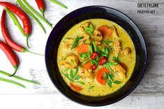 Podkręcająca metabolizm zupa tajska z kurczakiem –