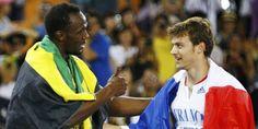 Usain Bolt & Christophe Lemaitre ♥