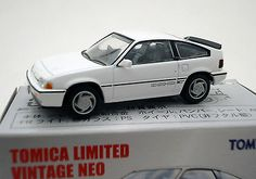 Tomica Limited Vintage NEO TLV-N35 Honda CR-X Si 1985 (White) Dicast car JAPAN