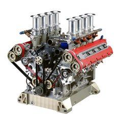 ◆ Visit MACHINE Shop Café ◆ (GT Engine Ferrari F355 & 360)