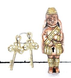 """Handcrafted Brass Unique Doll Shape Engraved 2 Key Padlock  With Rich Patina  Get it from our online store:  www singhalexportsjodhpur com and search for """"30317"""" in the search box  Use code EARLYBRD5 to get amazing discounts.  LALJI HANDICRAFTS - WORLDWIDE SHIPPING - EXCLUSIVE HANDICRAFTS  INDIAN DECOR INDUSTRIAL DECOR VINTAGE DECOR POP ART MOVIE POSTERS VINTAGE MEMORABILIA FRENCH REPLICA    #padlock #padlocks #padlopadlock #lovepadlocks #vintagepadlock #mustfindapadlock  #victorianpadlocks…"""