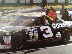 Dale Earnheardt Sr. honors a legend after winning the Pocono Race in JULY 1993