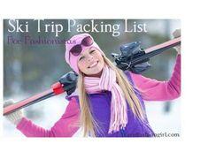 Ski Trip Packing List for Fashionistas