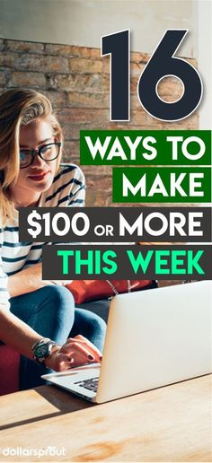 I tried quite a few of these 16 ways to make money fast online several were quite easy. I made $100 the first day and hope to make $1000 this month!