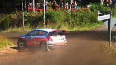 Day 2 in Neste Rally Finland 2014. Hayden Paddon at SS8 Painaa in Jyväskylä. Photo by Jukka Kolari, Coriosi www.coriosi.com