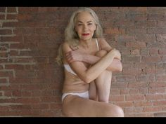 """""""I'm good this way too"""" almost brought me to #tears. Jacky O'Shaughnessy #bodyimage #aging #senior #grey #HerSolution"""