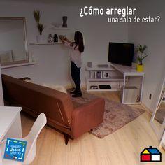 ¿Cómo arreglar una sala de estar? #HUM #HágaloUstedMismo #DIY #Sodimac