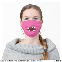 Cute monster mouth pattern washable unisex pink cloth face mask #mouthmaskfashion #mouthmaskusa #mouthmaskscanada #mouthmasksottawa #mouthmaskstoronto #washablemouthmasks #pinkmouthmasks #washableclothmouthmasks #washablemouthmasksusa #clothmouthmasksusa #clothmouthmaskscanada #piccograndemouthmasks #monstermouthfacemasks #funpattern #cutemonster #custommouthmasksusa #custommouthmaskscanada #uniquemouthmasksonline #zazzlemouthmasks #popularmouthmasks #mouthmasksforhim #artsymouthmasksusa Cute Monsters, Mouth Mask, Pink Outfits, Halloween Masks, Scary Halloween, Cute Illustration, Unisex, Money, Youtube