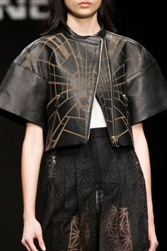Byblos Milano at Milan Fashion Week Spring 2015 - Details Runway Photos