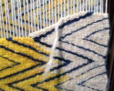 wedgeweave on loom - Stephanie T. Hoppe