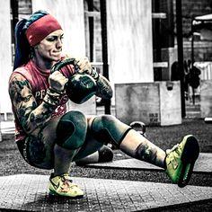 Pistol squat... Total BEAST! B-)