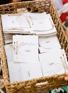Ceremony program details, Photo by Jillian Mitchell. Wedding Looks, Wedding Tips, Diy Wedding, Invites, Wedding Invitations, Wedding Ceremony Programs, Order Of Service, Wedding Suite, Wedding Stationary
