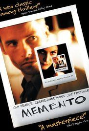Memento (2000) A man creates a strange system to help him remember things; so he can hunt for the murderer of his wife without his short-term memory loss being an obstacle.