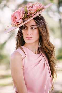 All Things Millinery Sombreros Fascinator, Fascinator Hats, Fascinators, Headpieces, Mode Orange, Races Fashion, Fancy Hats, Kentucky Derby Hats, Wedding Hats