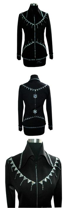 Other Rider Clothing 3167: Western Women S Horse Show Sparkling Diamond Jacket Equestrian Showmanship Shirt -> BUY IT NOW ONLY: $49.99 on eBay!