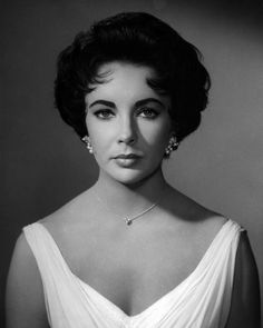 Elizabeth Taylor 1958......she starting educating herself in the mid-80's about the gay plague. With Dr. Matilda Krim in New York, she co-founded AmFar, the most prestigious AIDS organization. It is, unfortunately, still in operation.