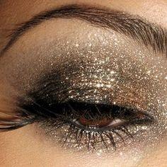 golden glow sparkle