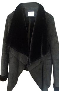 7ed5c3296670 Velvet by Graham   Spencer Faux Fur Shearling Fur Xl Fur Coat  77.50