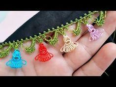 New worm candy stick with needle lace . Crochet Headband Pattern, Knitted Headband, Knot Headband, Crochet Patterns, Crochet Yoke, Crochet Girls, Crochet Flower Headbands, Crochet Flowers, Crochet Wedding