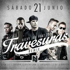 Nicky Jam Ft. Arcangel & De La Ghetto, Zion Y J Balvin – Travesuras (Official Remix) via #FullPiso