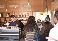 Wake up with the best coffee in Silverlake at Intelligentsia!