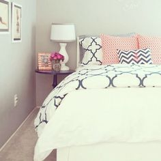 Definite bedroom inspo for my room later on this year! Great for couples as it's not too girly!